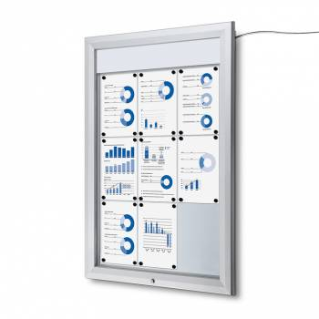 SCT LED Premium Notice Board 9xA4
