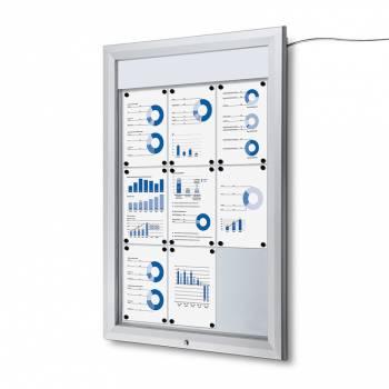SCT LED Premium Notice Board 9xA4