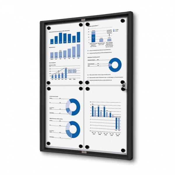 Noticeboard Economy Black (4xA4)