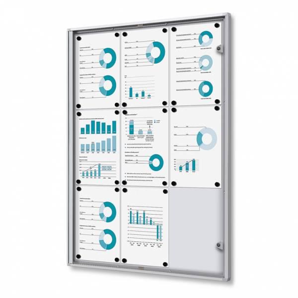 Noticeboard Economy Fireproof (9xA4)