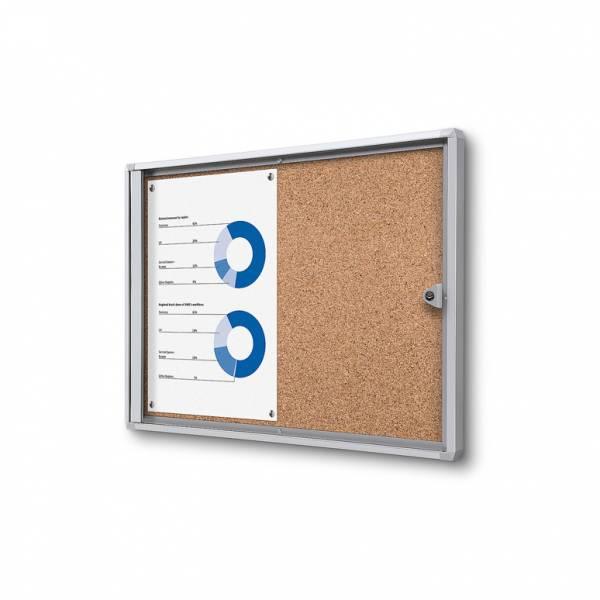 Cork Noticeboard Economy (2xA4)