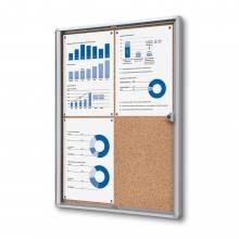 Cork Noticeboard Economy (4xA4)