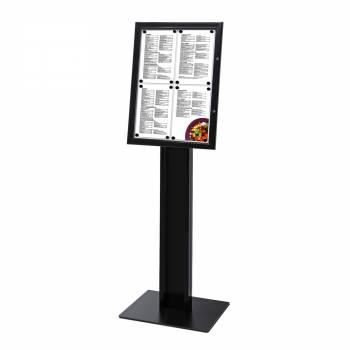 Black freestanding display / LED menu