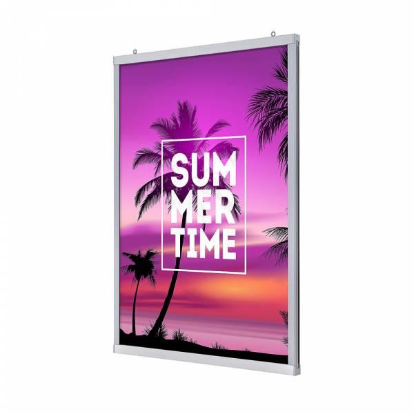 Slide in Frame LED, double-sided, 70x100