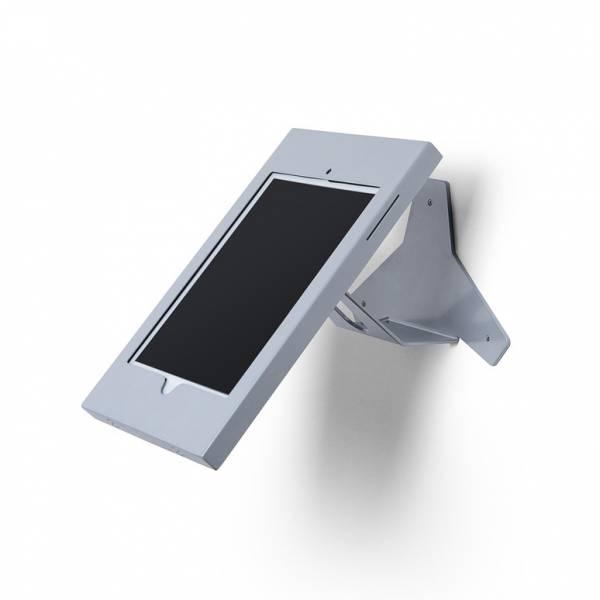 iPad Enclosure WallAngled Top Silver