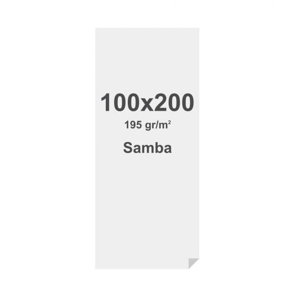 Sublimation print fabric with keder, 1000x2000mm, SAMBA 195g/m2, B1