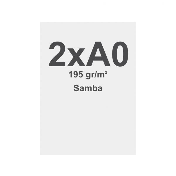 Sublimation print fabric with keder, 841x2378mm, SAMBA 195g/m2, B1