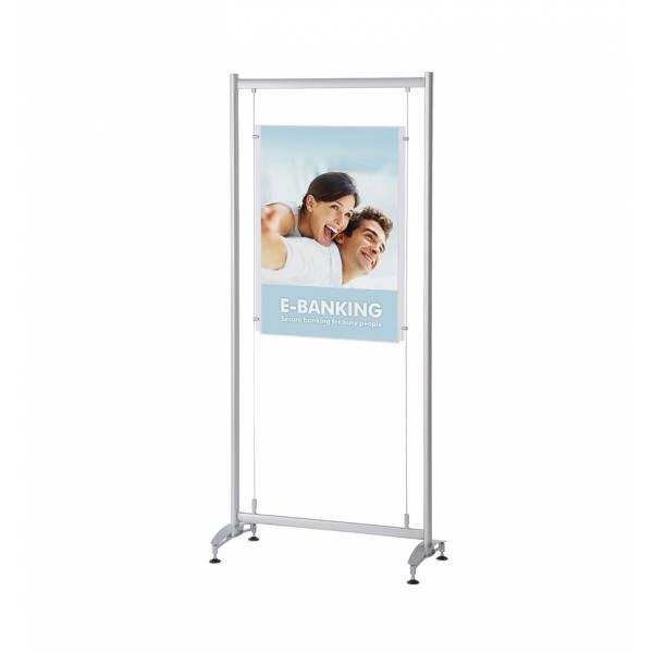 Elypse Freestanding Poster Display Stand