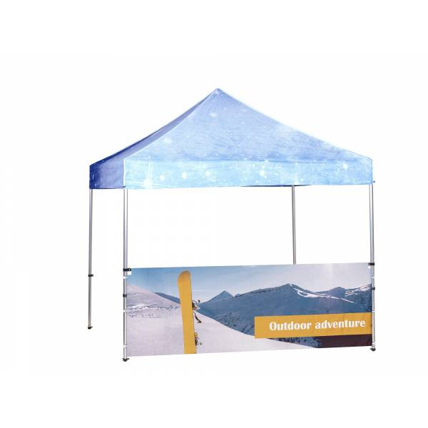 Tent 3x3 mtr Half wall Full color double sided 300x600D