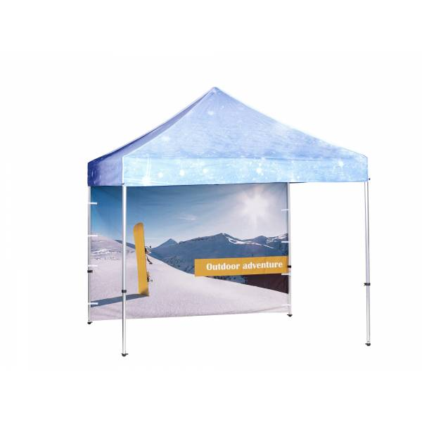 Tent alu 3x3 mtr Wall Full color double sided