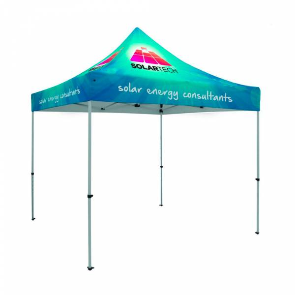 Tent Alu 3 x 3 Meter Including Bag And Stake Kit