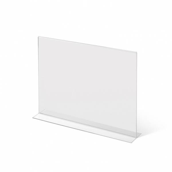 A3 Landscape acrylic T Stand Menu Holder