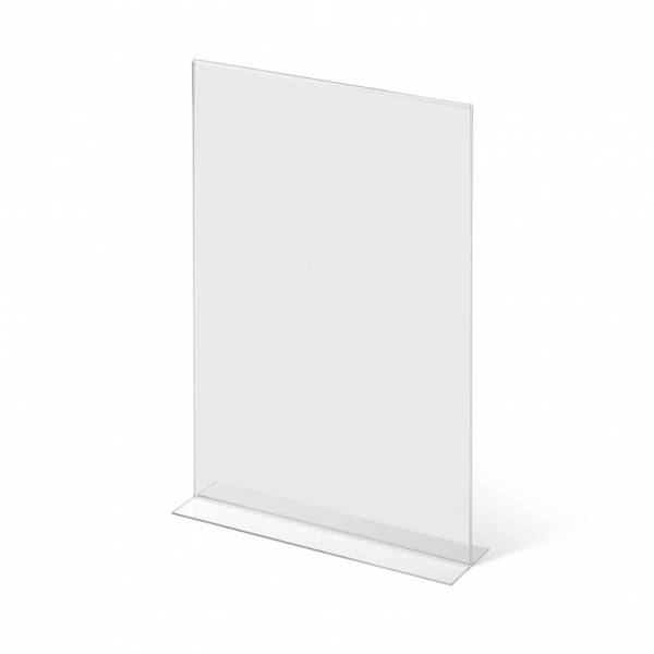 A3 Portrait acrylic T Stand Menu Holder