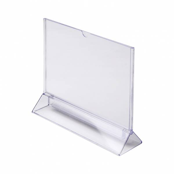 A5 Landscape T Stand Menu Holder