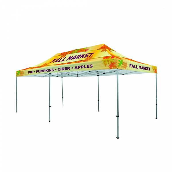 Tent 3x6 + bag + stake kit Canopy full color B1