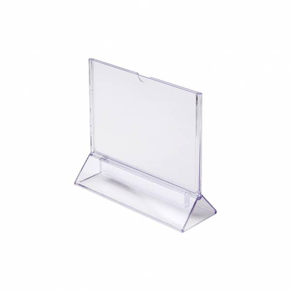 A6 Portrait T Stand Menu Holder