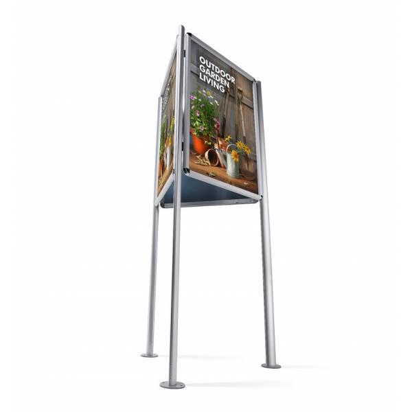 Triboard 70x100, 32mm Snap Frame