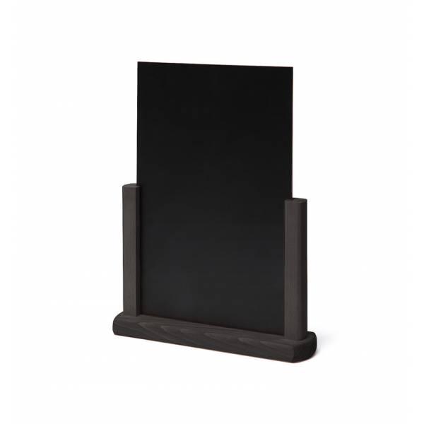 Wooden Menu Card A4 Black