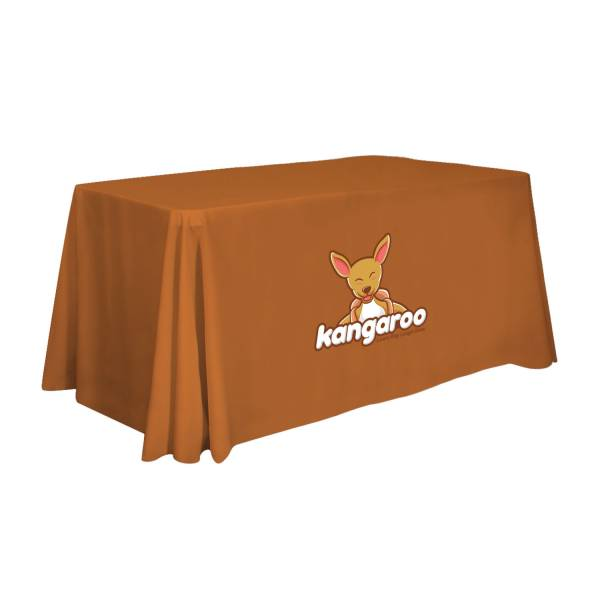 "Table Cover Standard Square 72x30x28"" Graphic Imprint"