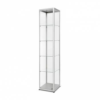 Glass Showcase 400x400x2000mm