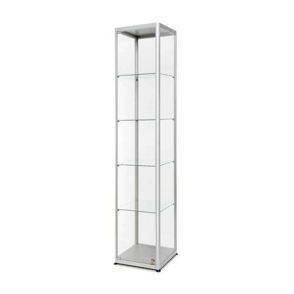 Glass Showcase 400x400x2000mm