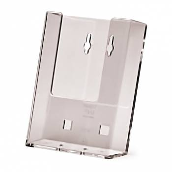 Acrylic Leaflet Holder - DL Wall or Counter