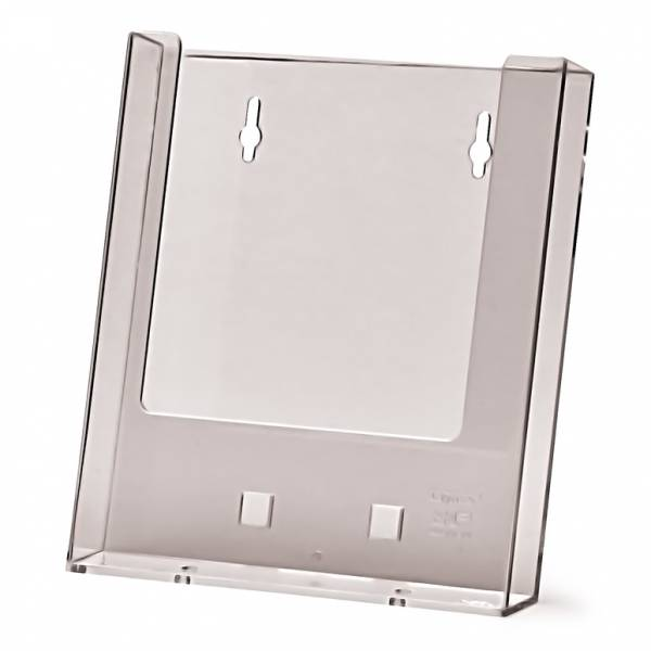 A5 wall mounted Brochure Holder with AB1 Counter foot attachment