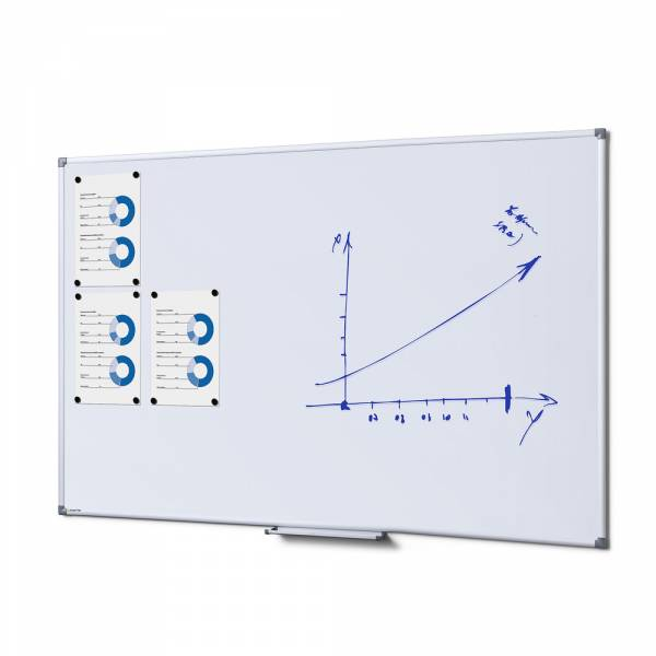 SCRITTO® Magnetic Steel Whiteboard 100x150