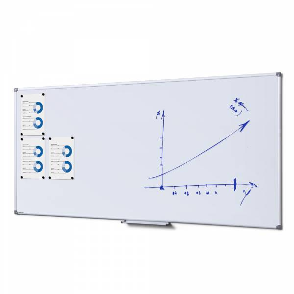 SCRITTO® Magnetic Steel Whiteboard 100x200