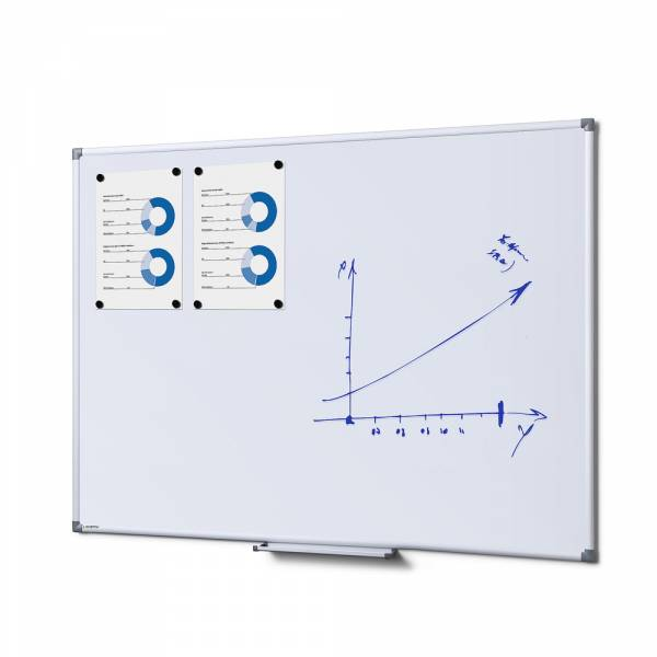 SCRITTO® Magnetic Steel Whiteboard 90x120