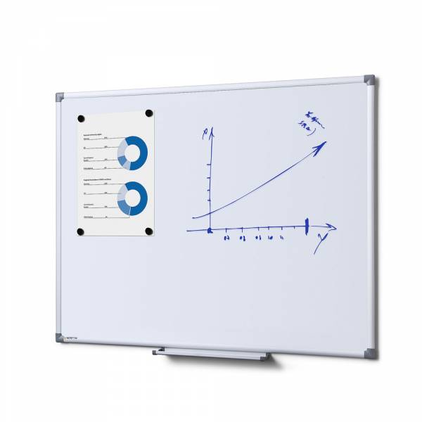 SCRITTO® Magnetic Steel Whiteboard 90x60