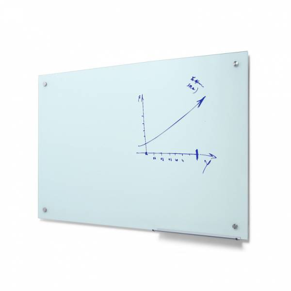 Glass whiteboard 90x120