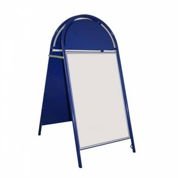 Booster A Board Pavement signs ,20x30, BLUE