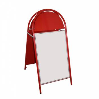 Booster A Board Pavement signs ,20x30, RED
