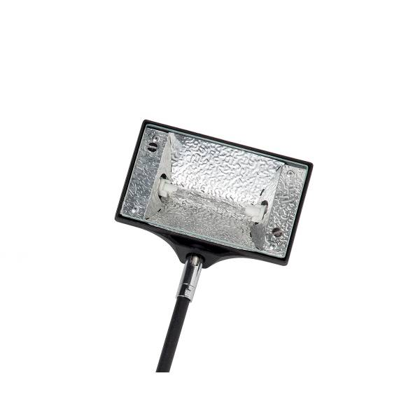 Wall Light Halogen 150 Watt Black