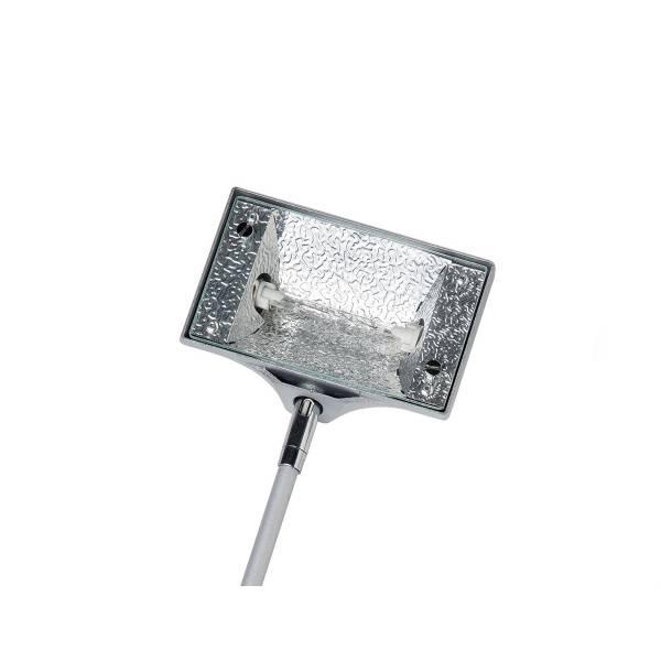 Wall Light Halogen 150 Watt Silver