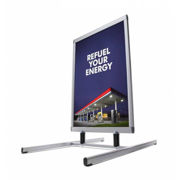 Windtalker® Excel Economy. Forecourt sign (50x70)