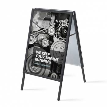 Mitred Corner A board, 32mm, 70x100, black