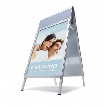Compasso Premium A Board - Silver with Logo panel