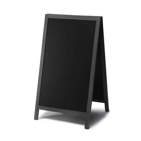 Large A-Frame Chalkboard Premium (Black)