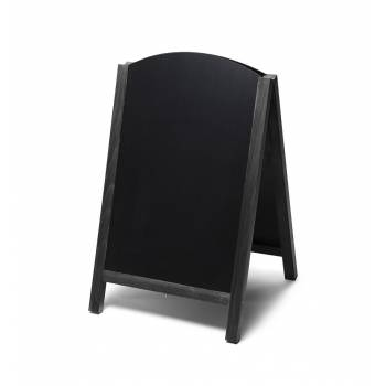 55x85 JD Natura Free Standing Fast Switch Chalk A Board BLACK
