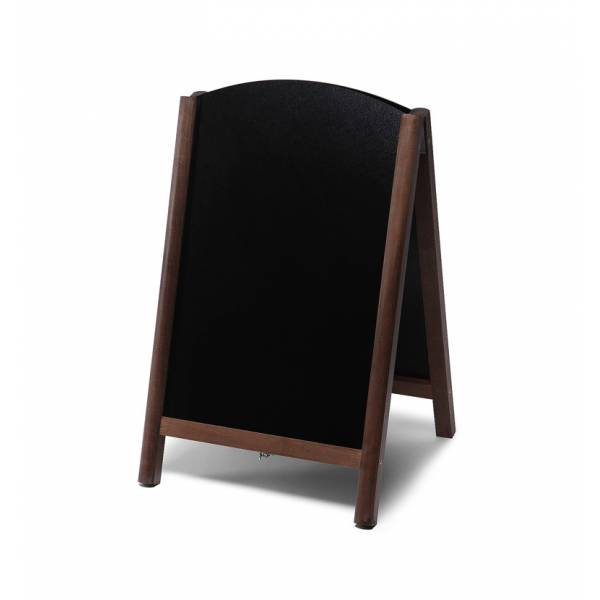 55x85 JD Natura Free Standing Fast Switch Chalk A Board DARK BROWN