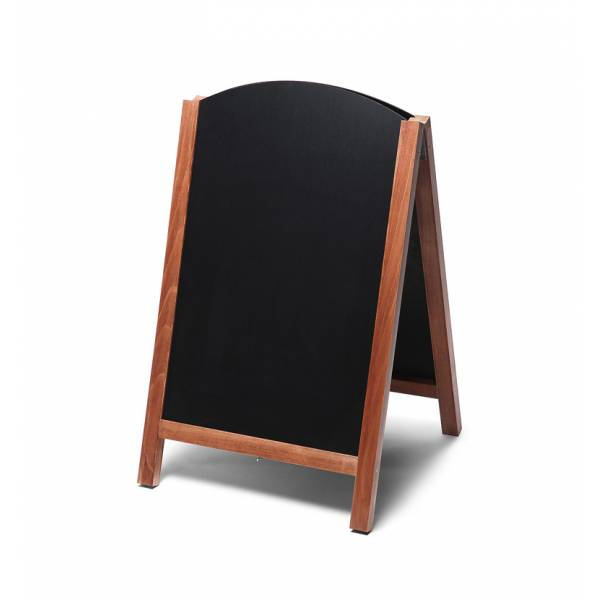 Fast Switch A-Frame Chalkboard (Light Brown)