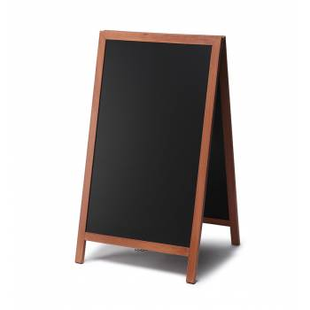 68x120 JD Natura Free Standing Chalk A Board, TEAK