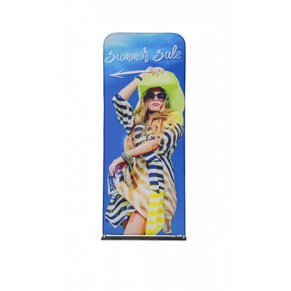 Zipper-Wall Banner 80x200cm Graphic Double Sided
