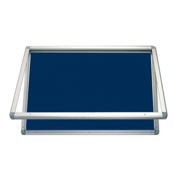 Outdoor Blue Felt Showcase 9 x A4