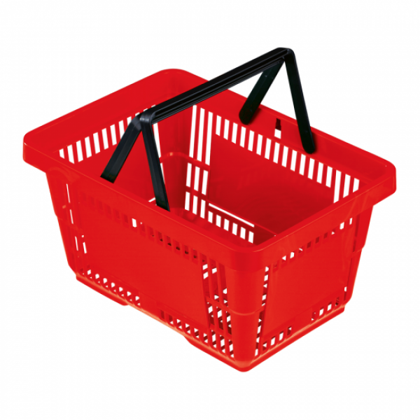 Shopping Basket 22L Red