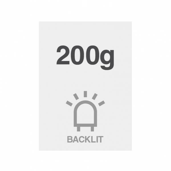 Printed Poster, Backlit, 200g/m2