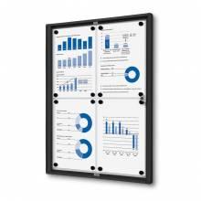 Indoor Lockable Noticeboard Economy