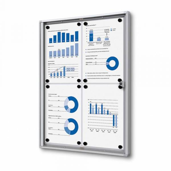 Indoor Lockable Economy Noticeboard
